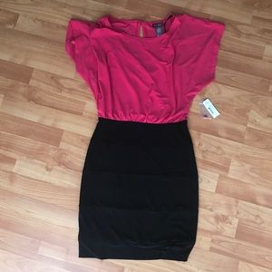 Black and pink party dress 4